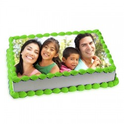 1kg Personalized Photo Cake
