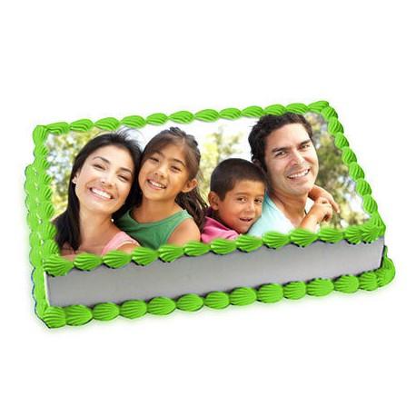 1kg Personalized Photo Cake