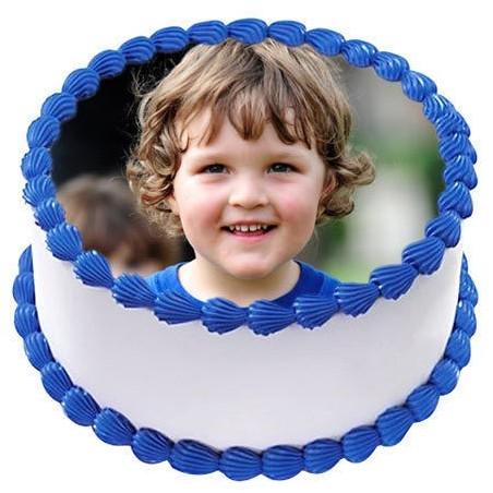 Personalized Photo Cake - 1 Kg