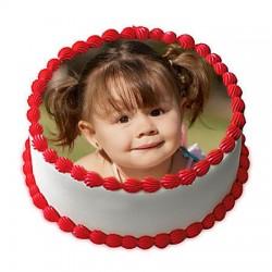 2Kg Personalized Photo Fan Cake