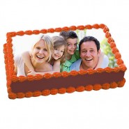 2kg Personalized Photo cake