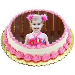 2.5Kg Personalized Photo Cake