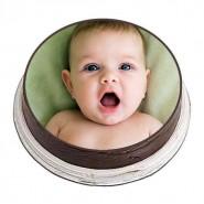 3kg Personalized Photo Cake