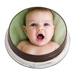 3kg Personalized Photo Cake  3 kg