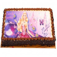 Barbie Photo Cake -2kg