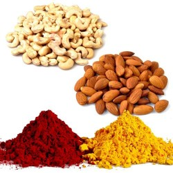 Twin Dry Fruits with Colors