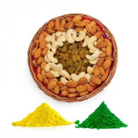 Delightful Dry Fruits with Colors