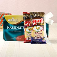 Vochelle Hazelnuts With Mix Gulal