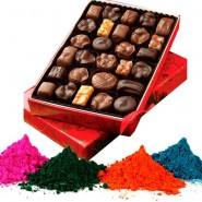 Holi Colour & Homemade chocolate Hampers