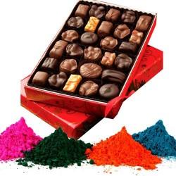 Home Made Chocolate n Gulal