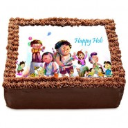 Personalised Holi Cake