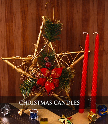 Christmas candle - Christmas Gift Online Delivery