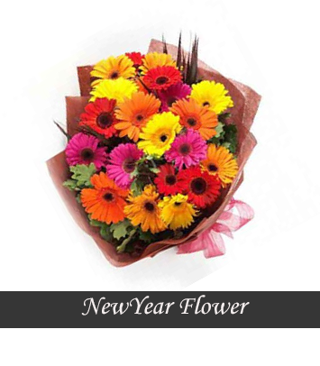New Year Flower - New YearGift Online Delivery